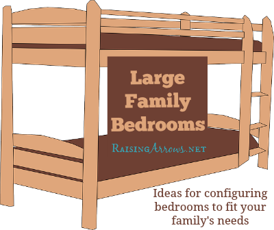 Great Arranging Large Family Bedrooms RaisingArrows net