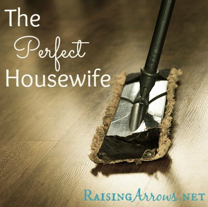 Are you the perfect housewife? | RaisingArrows.net