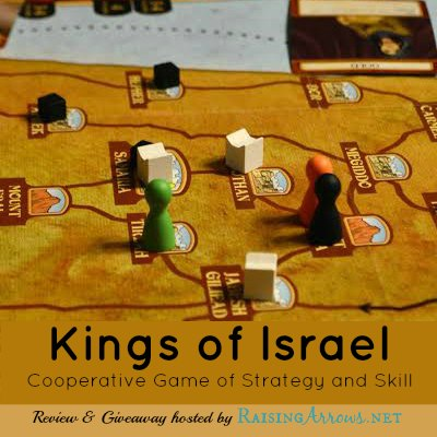 Kings of Israel Cooperative Game - Review & Giveaway on RaisingArrows.net