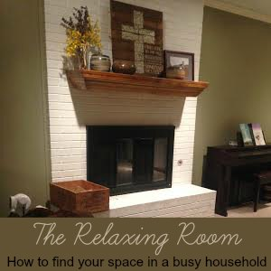 The Relaxing Room - how to find your space in a busy household | RaisingArrows.net