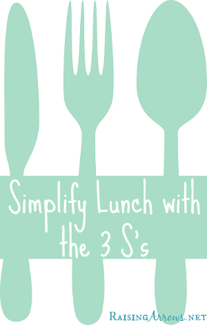 Make Lunch Easy with the 3's - Soup, Salad, Sandwiches | RaisingArrows.net