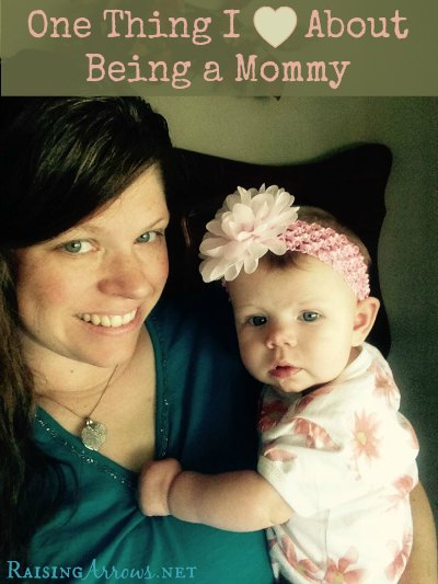 Being a Mommy (especially a mommy of many) holds so many treasures - here is one of my favorites | RaisingArrows.net