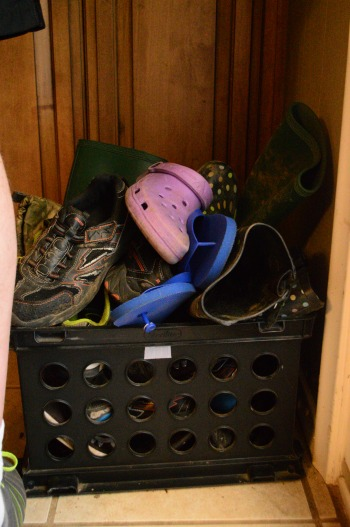 Large Family Hack - Play Shoe Crate | RaisingArrows.net