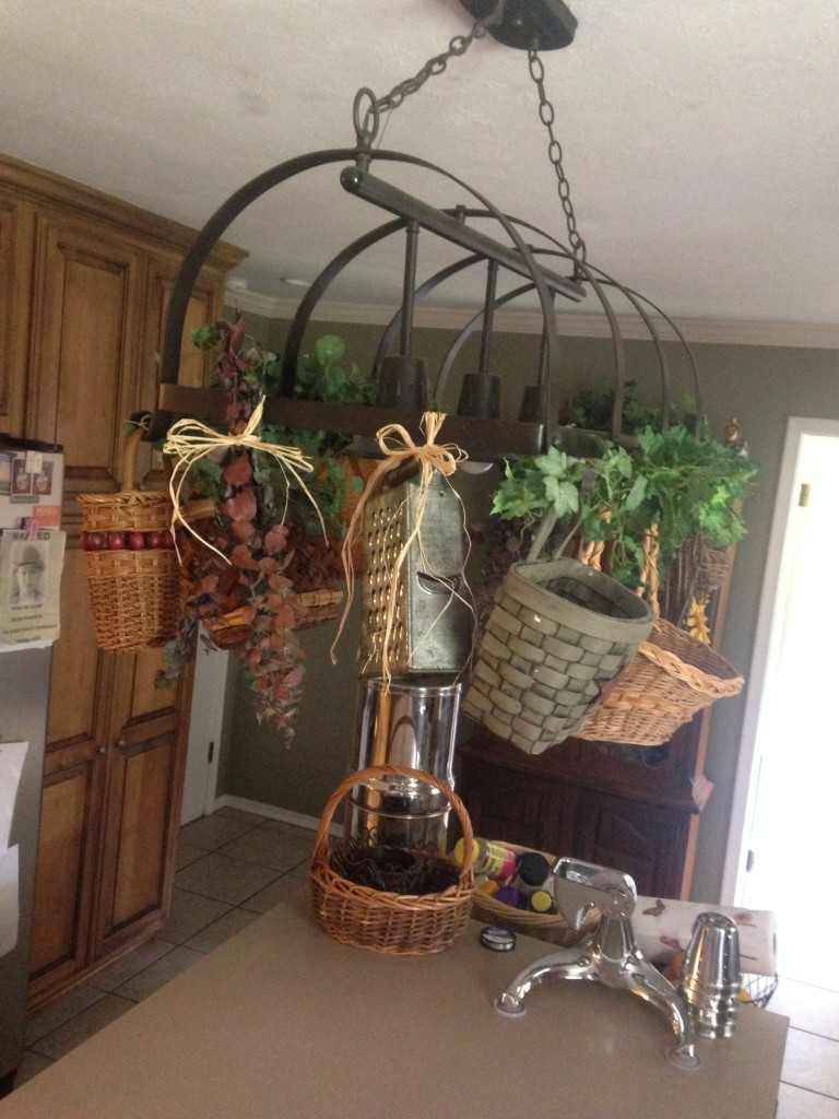 Decorating the pot rack {A Day of Raising Arrows}