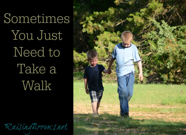 Clear your head, take it slow, pay attention - sometimes all you need is a walk | RaisingArrows.net