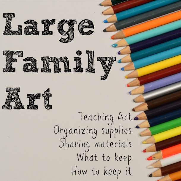 How to manage art with varying ages and abilities | RaisingArrows.net