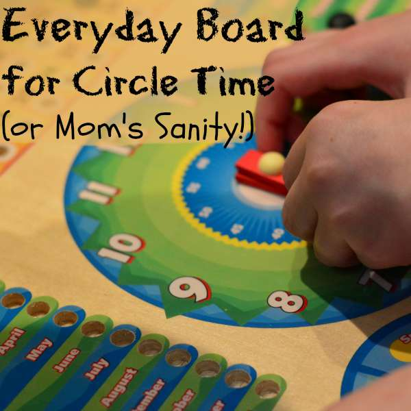 Using an Everyday Board in your homeschool helps your little ones know what to expect that day! | RaisingArrows.net