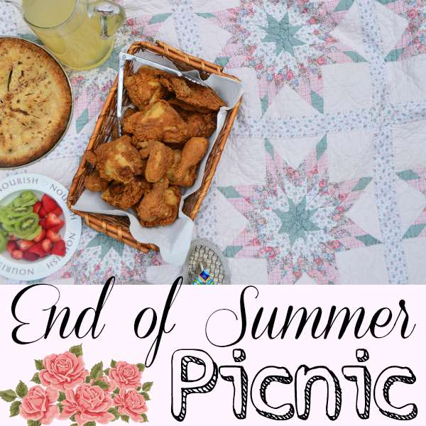 Say goodbye to Summer with an End of Summer Picnic! | RaisingArrows.net