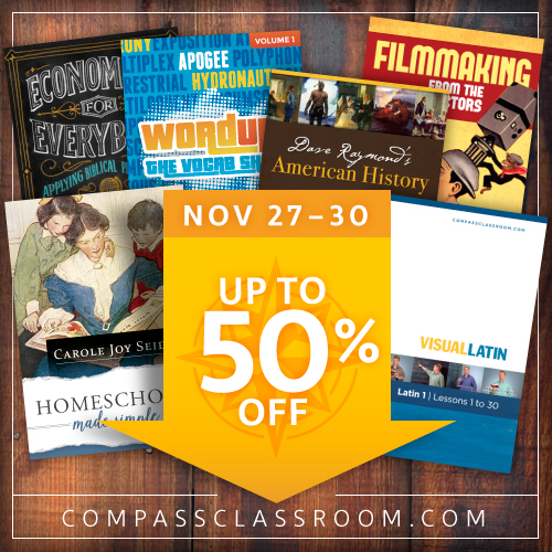 Compass Classroom Black Friday 2015 Sales