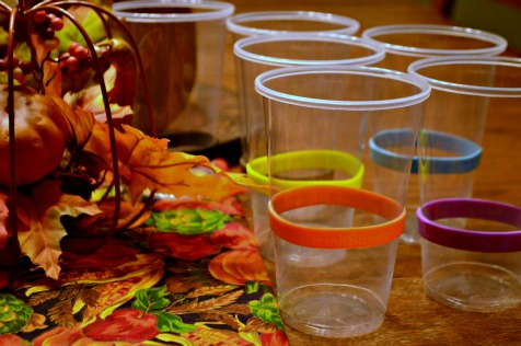 Bring DrinkBands to Thanksgiving this year and cut down on sickness and lost cups! {Giveaway going on right now!} | RaisingArrows.net