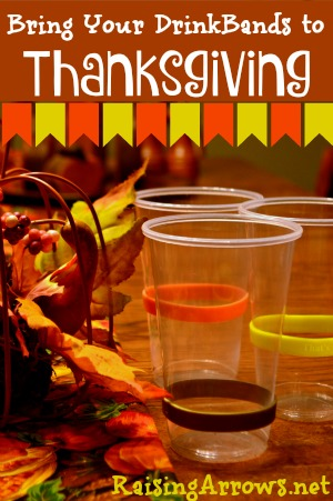 Keep track of all the cups and keep sickness at bay with DrinkBands! {Giveaway going on right now!} | RaisingArrows.net