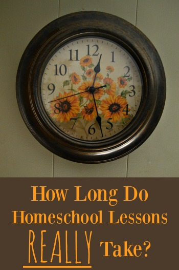 A guide to how long homeschool subjects take to complete, how to handle dawdling, and if homework is necessary | RaisingArrows.net
