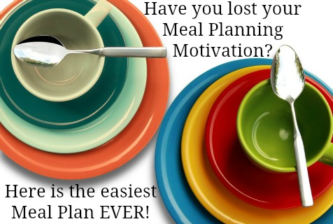 Simplify your meal planning so you can enjoy your days of mothering and homeschooling! | RaisingArrows.net
