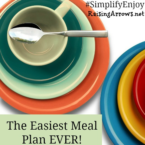 I seriously needed to simplify my meal plan - this is how I did it! | RaisingArrows.net