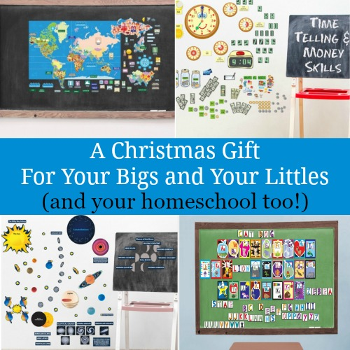 A Christmas Gift For Your Bigs and Your Littles (and your homeschool too!)