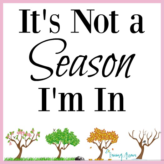 """What if your """"season"""" lasts for years and years and years? 