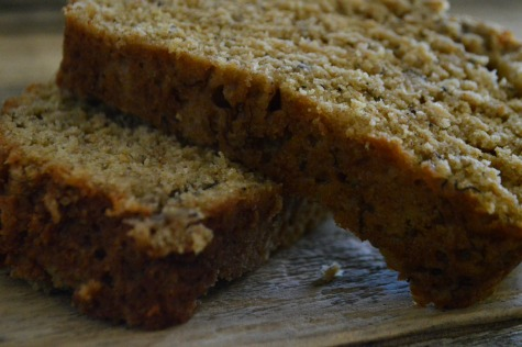 This earthy, not-too-sweet banana bread recipe offers down home goodness in large family quantities! | RaisingArrows.net