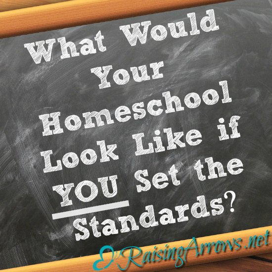What if this year, YOU set the standards for your homeschool? What if this year you dug deep and raised outside-the-box children?