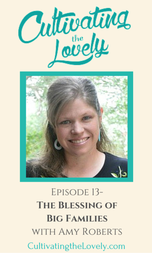 Cultivating the Lovely Podcast with Amy of RaisingArrows.net