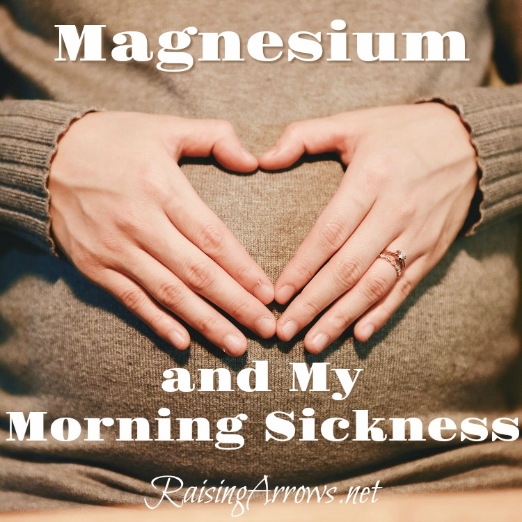 How magnesium helped my morning sickness. It wasn't a cure, but it did have a significant impact.