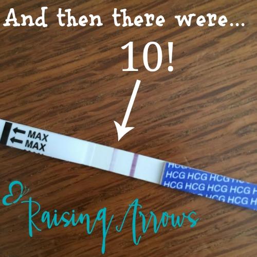 10 Little Arrows!
