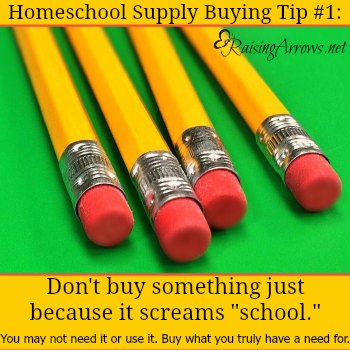 2016 Guide to Homeschool Supplies - your frugal guide to finding everything you need this school year!