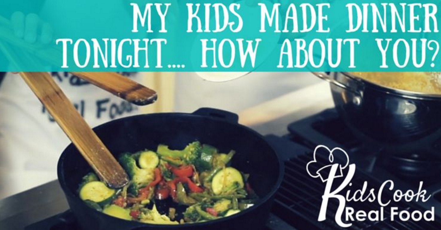 Teaching My Kids to Cook