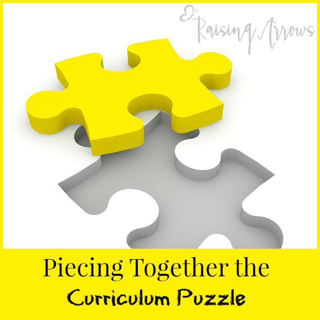 How to piece together your curriculum so it works for you!
