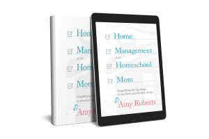Home Management for the Homeschool Mom Resource Page