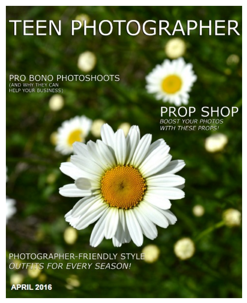 FREE Teen Photographer Magazine!