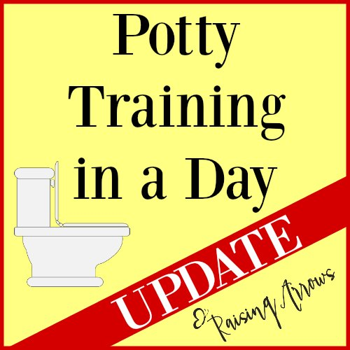 Did my potty training efforts pay off? Find out here + tips to help you potty train a reluctant little one