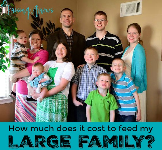 How much does it really cost to feed a large family? Here is my weekly budget, what I feed my family of 10, and what I buy in bulk, + much more!