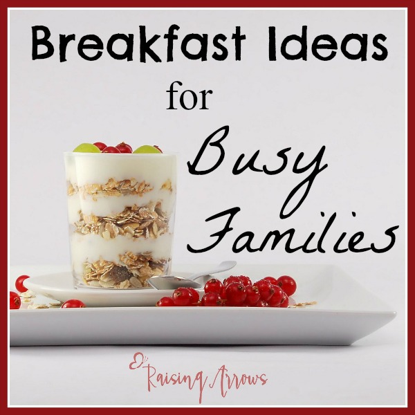 Need easy breakfast ideas for your growing family that allows you to relax in the morning? Yes, please!