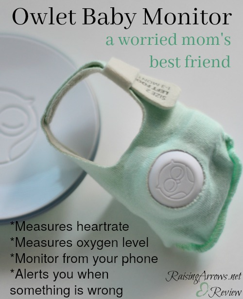 The Owlet Baby Monitor gave me peace of mind when we came home from NICU with our baby girl. Read more about this wonderful invention!