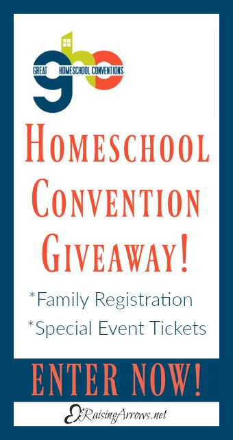 Great Homeschool Conventions Giveaway! Win a Family Registration and Special Event Tickets!