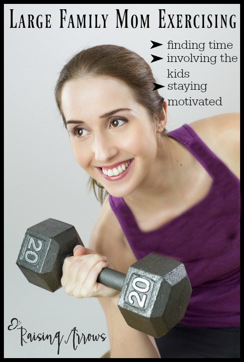 How to Exercise When You are a Large Family Mom