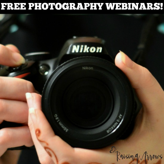 Don't miss these FREE photography classes for you and your teens!