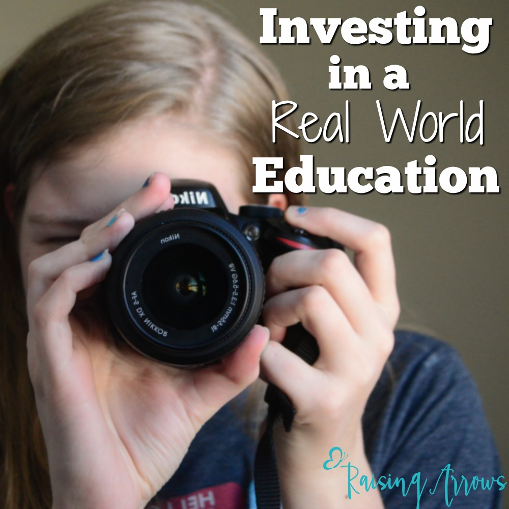 Use a substantial amount of your homeschooling budget to invest in your child's real world education. This is especially important in the teen years.