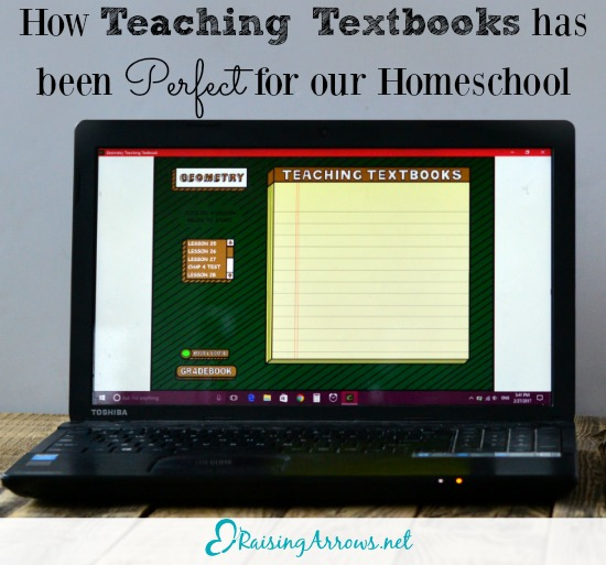 Teaching Textbooks has given me back time, saved me energy, and kept our homeschool running through difficult circumstances!