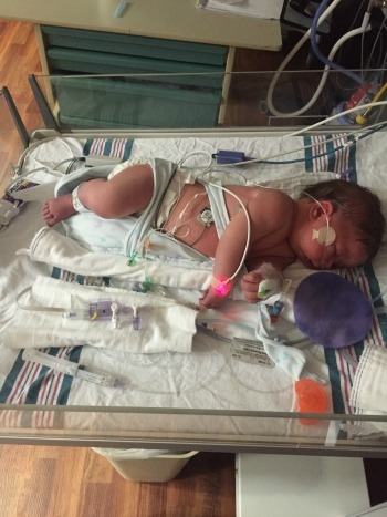 NICU Mom Series - The Shell Shock of ending up in NICU