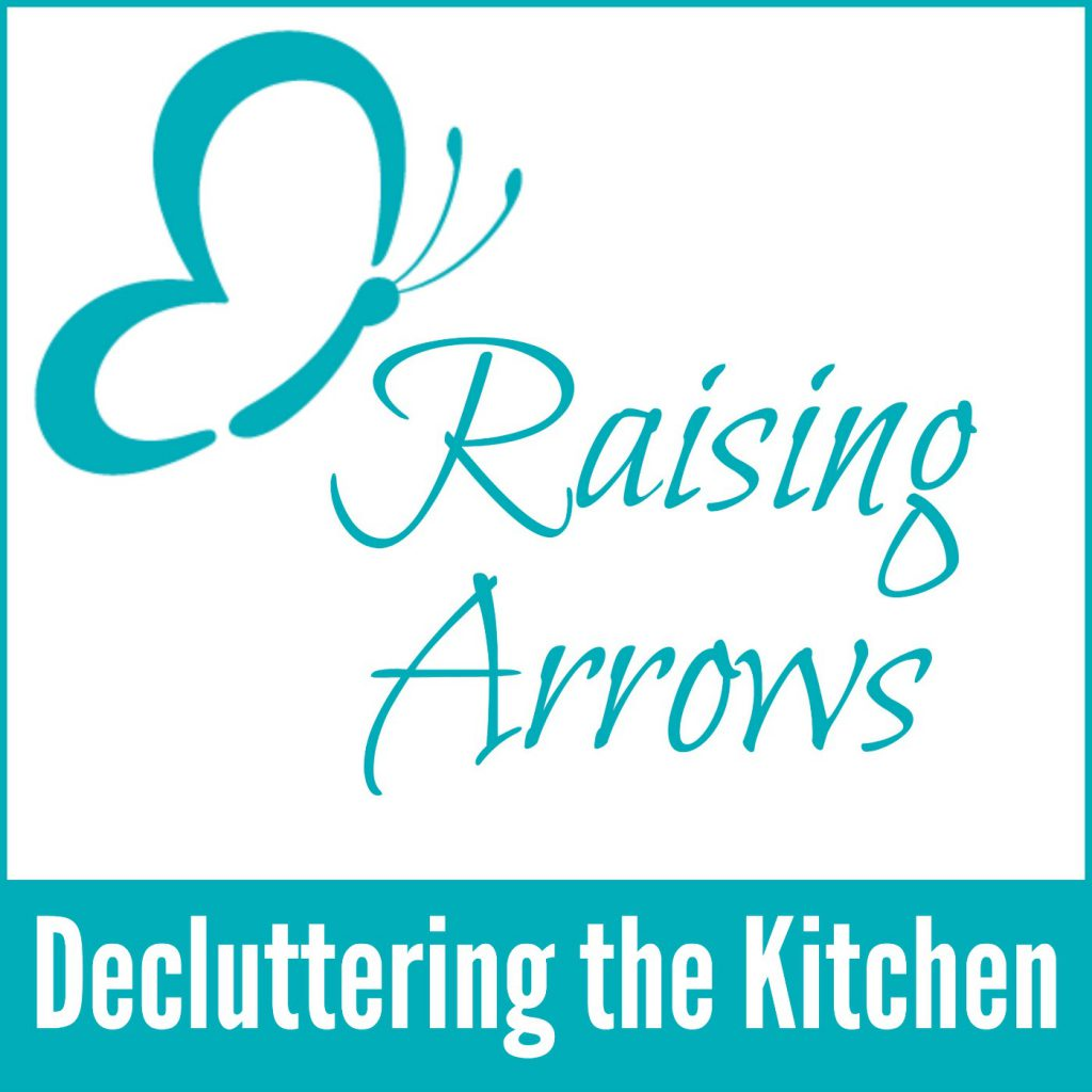 Are you ready to get that kitchen decluttered? Work along with me as I go through my kitchen! Raising Arrows Podcast 006