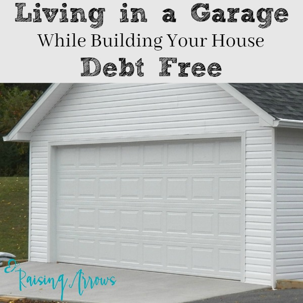 What would life be like if your family lived in a garage while you built your home debt free? This family shares all!