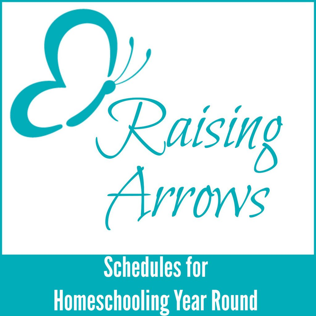 Considering homeschooling year round and wonder how that looks when it comes to scheduling? Check out this podcast!