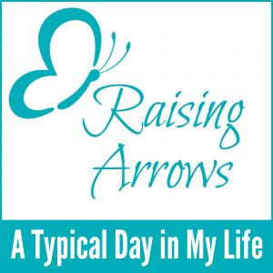 Have you ever wondered what my day looks like? Here's your chance to see how my routine works, and what an average day is like in the Raising Arrows household!