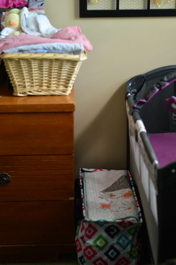 Keep baby's things neat, tidy, and organized with these tips from a mom of 10!