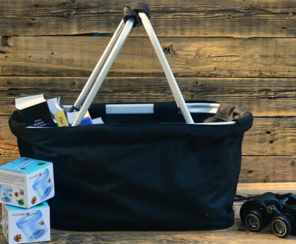 Keep all of your nature study tools in one easy grab-n-go bag! We calls ours a Nature Bag, and this post shares everything we have in ours + more ideas!