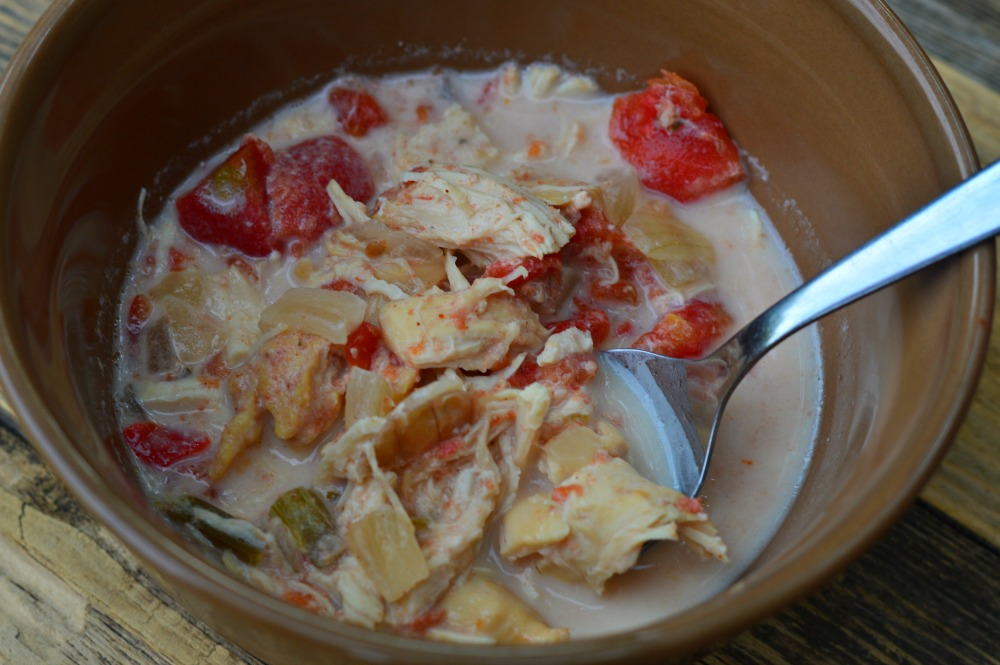 Chicken Fajita Soup from Trim Healthy Table
