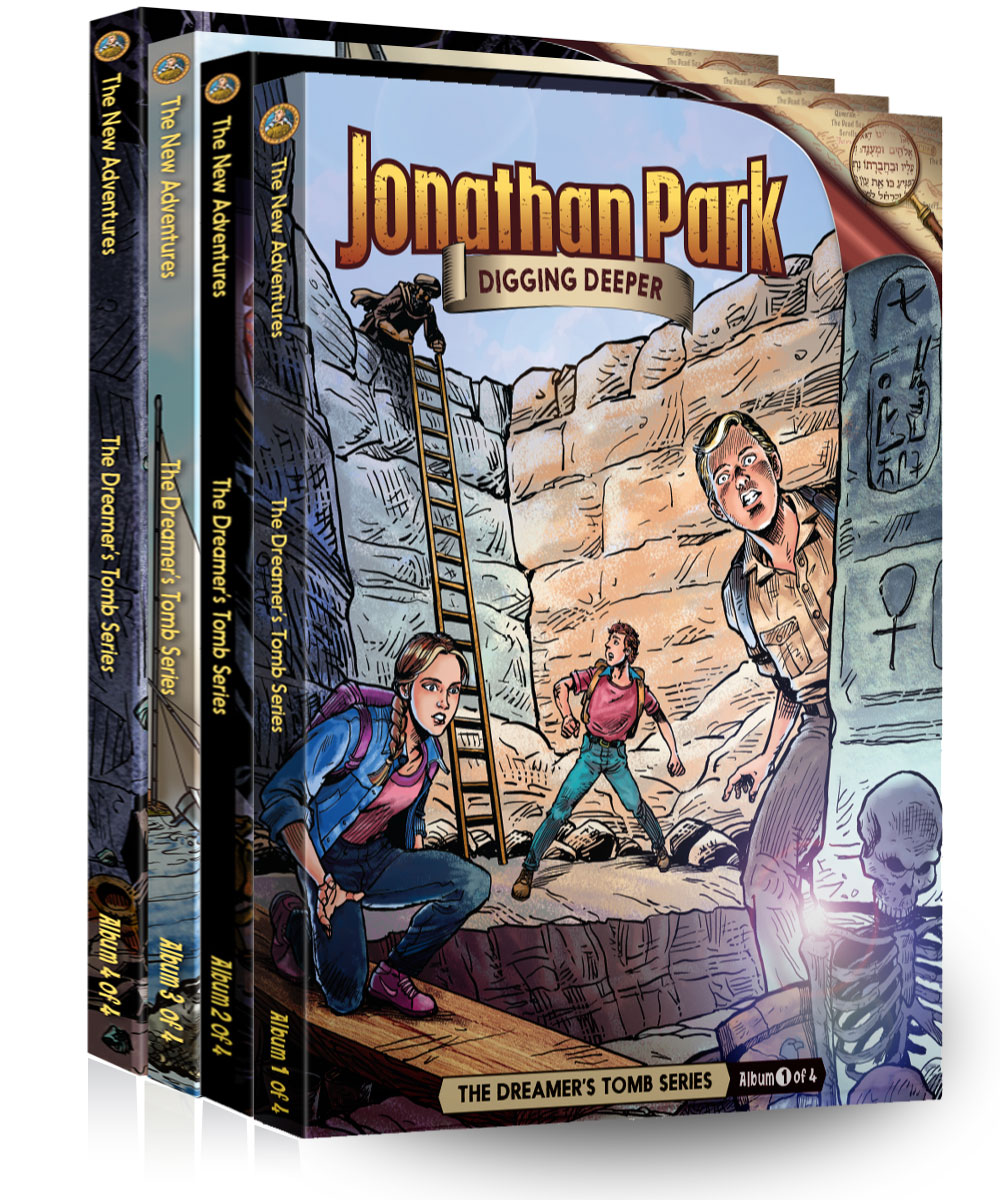 Brand new audio adventures from Jonathan Park - The Dreamer's Tomb!