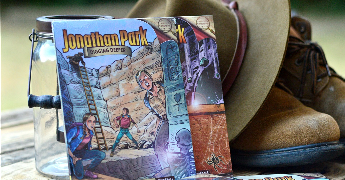 The brand new adventures of Jonathan Park are here! Teach your kids to defend their faith with these awesome audio adventures!