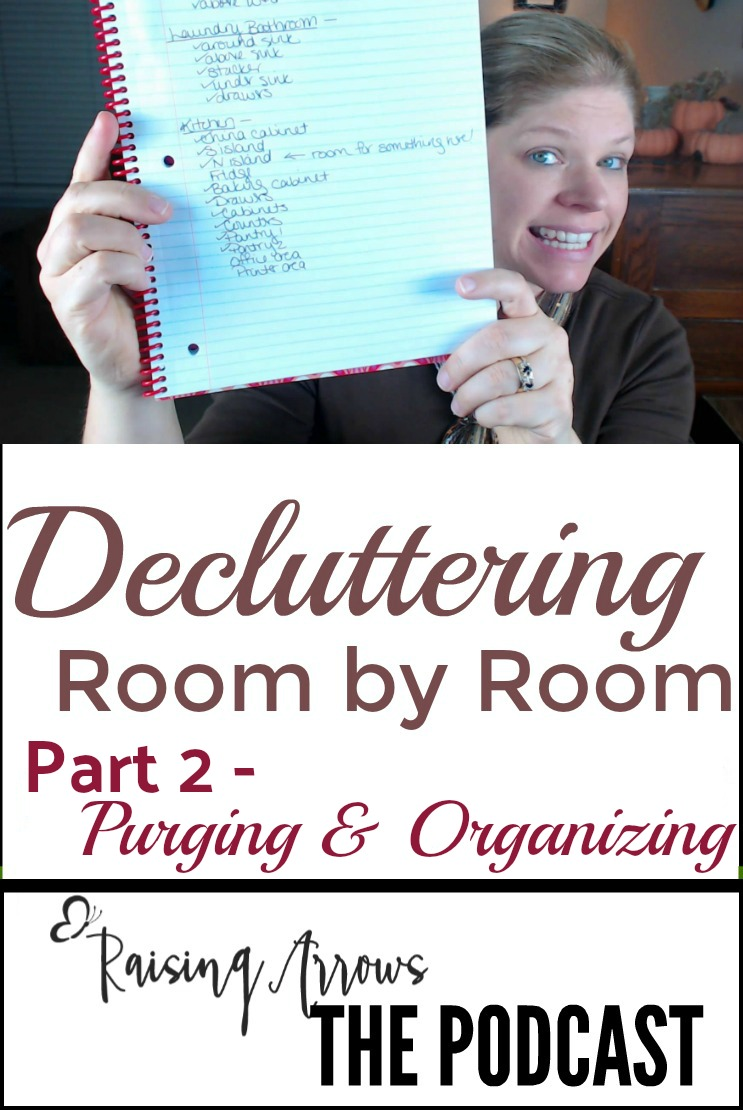 Decluttering Room by Room | Part 2 – Podcast 031
